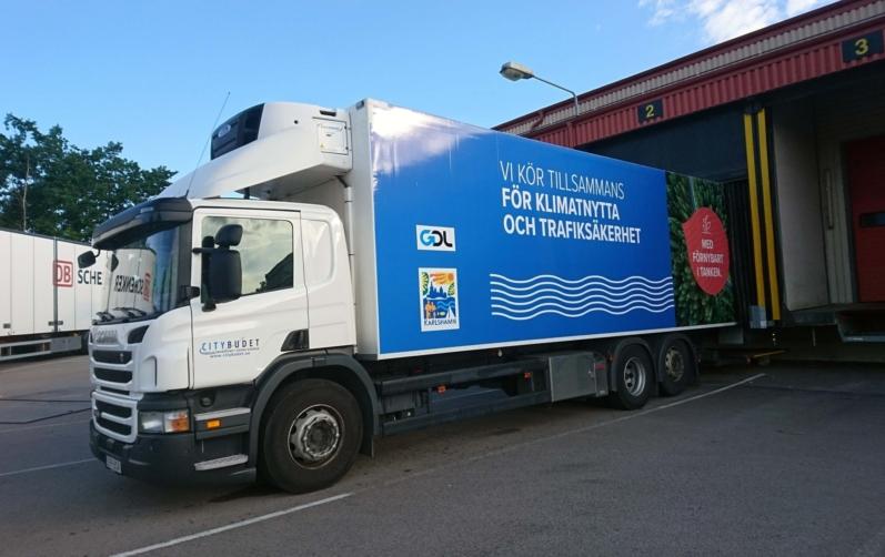 Foto på en lastbil