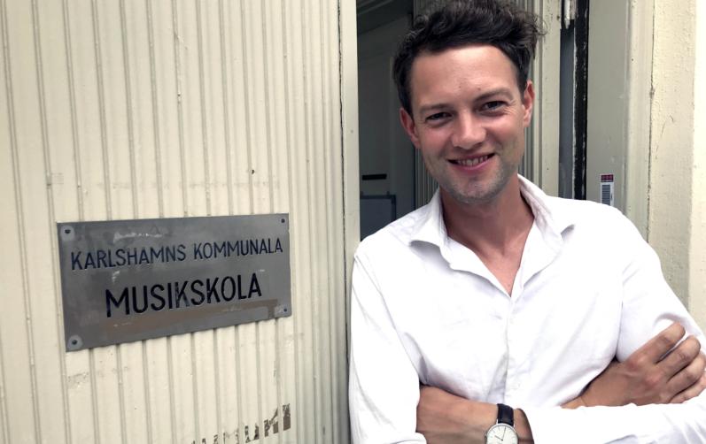Foto på Fredrik Gustafsson