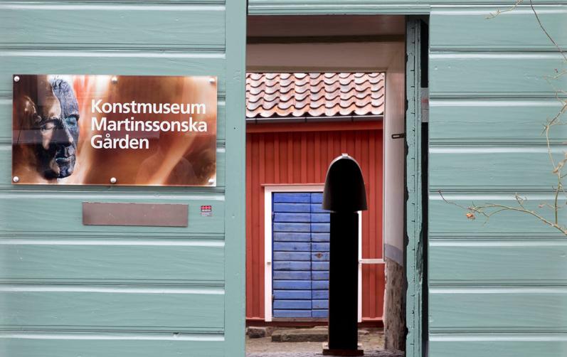 Foto på ingång till Martinssonska gården