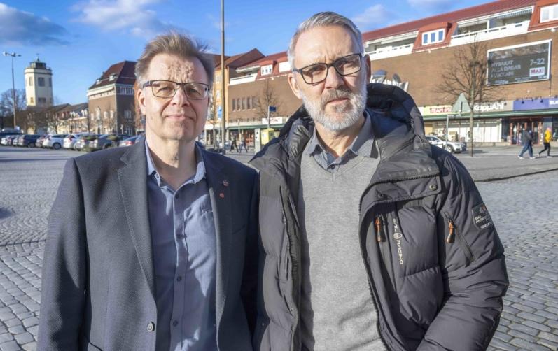Foto på Per-Ola Mattsson och Mathias Wijk