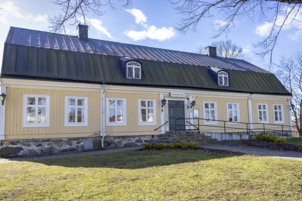 Foto på Lindegården i Mörrum.