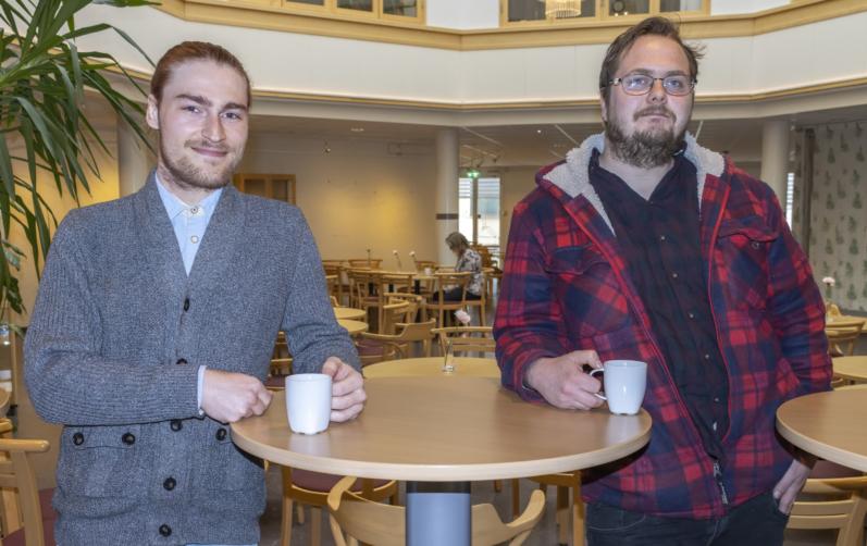 Pierre Adolfsson, Karlshamn, och Tom Dennheim, Ronneby, är två av volontärerna.
