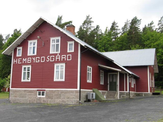 Foto på Åryds hembygdsgård