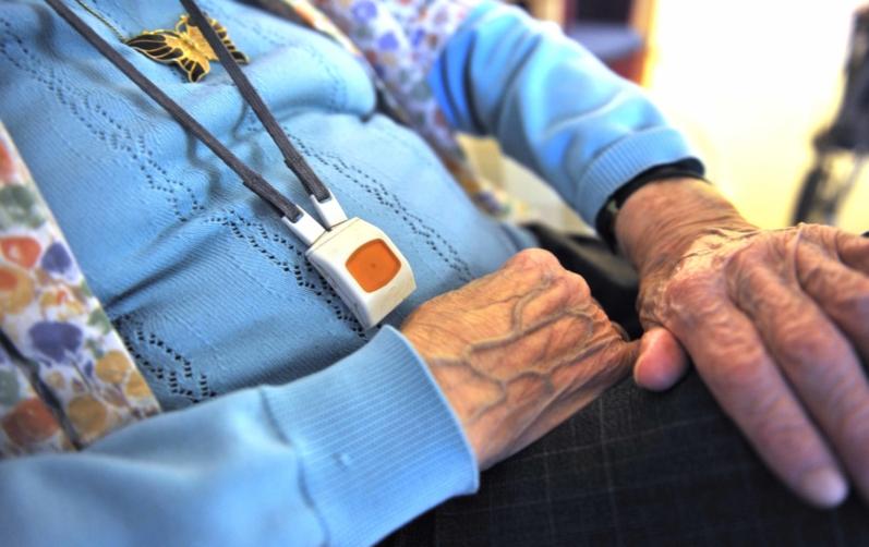 Foto på äldre kvinna