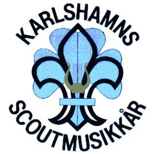 Scoutmusikkårens logga